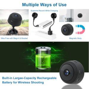 Mini IP Camera 1080P Sensor Night Vision Camcorder Motion DVR Micro Camera Sport DV Video small Camera Remote Monitor Phone App