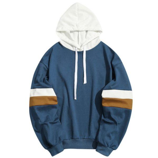 HEFLASHOR Hoodies Sweatshirts Men Women Color Block Patchwork Hoodie Hip Hop Streetwear 2020 Oversized Outwear Long Sleeve Hoody