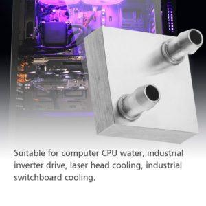 PC Aluminum Water Cooling Block 40*40mm
