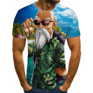 T-shirts Dragon Ball Slim Fit 3D T-Shirts