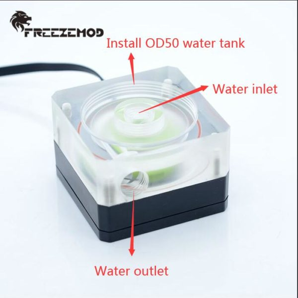 PC Water Cooler Pump Ultra-thin with Thick Flow 500L PU-SZM6