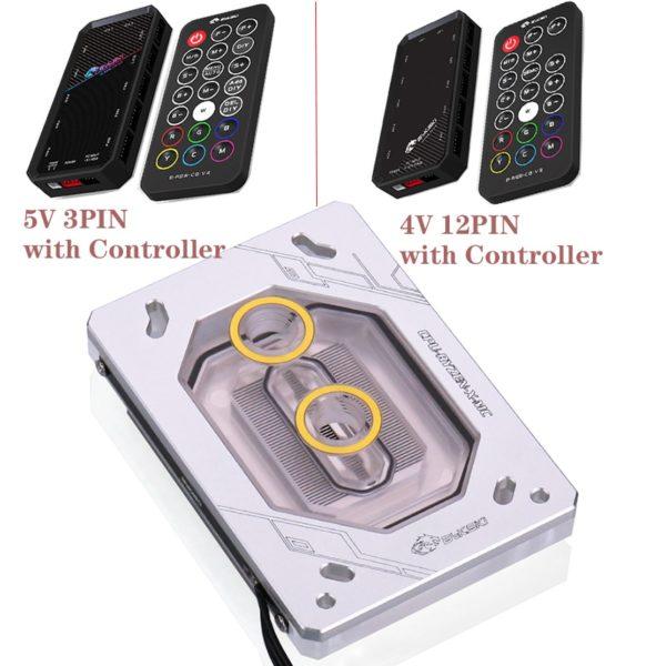 PC CPU Water Block For RYZEN3000 RyzenAM3/AM3+/AM4 1950X TR4 X399 X570 /Copper Radiator