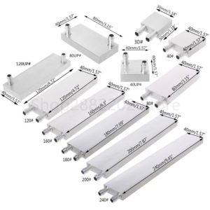 PC Aluminum Water Cooling Block Heat Sink System