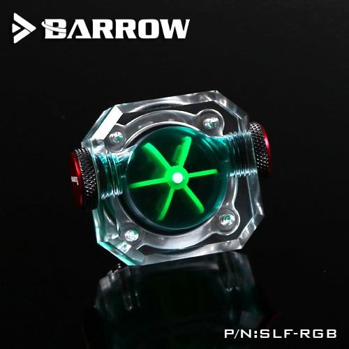 PC CPU Water Cooling Flow Display Barrow SLF-RGB