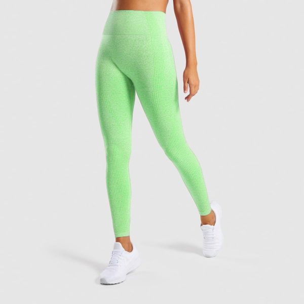 Sport Gym Leggings Women High Waisted Pants Sexy Girls Running Fitness Seamless Legings Breathable Quick Dry Training Pants