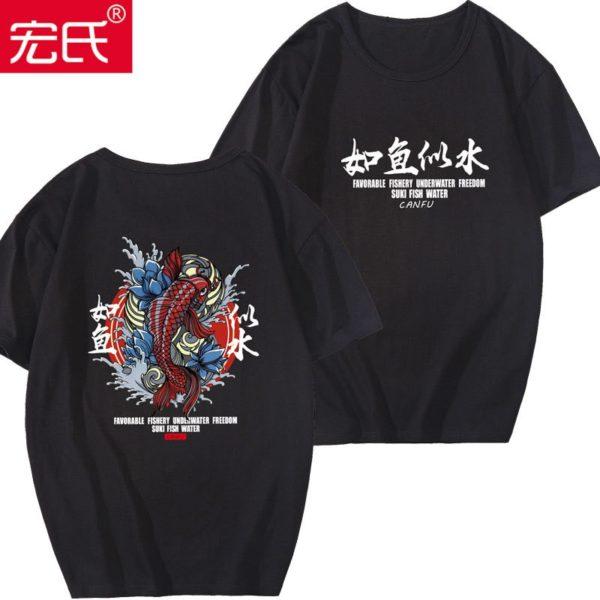 T-shirt Special Japanese/Chinese Tide brand short-sleeved men and women summer street hip hop