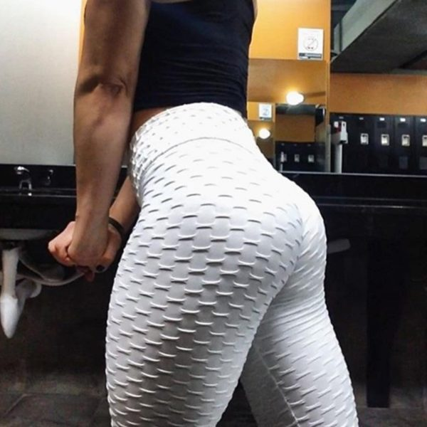 Leggings High Waist Fitness Push Up Solid Color