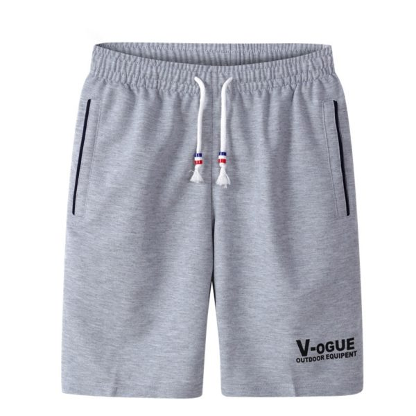 Summer Shorts Men Trunks Breathable Cotton Gym Trousers