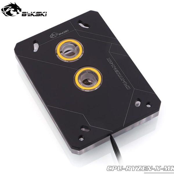 PC CPU Water Block For AMD RYZEN3000 AM3 AM3+ AM4 1950X TR4 X399 X570 / 5V 3PIN RGB Light /Copper Radiator