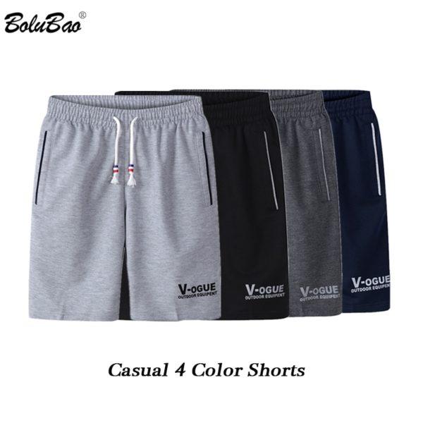 Fashion Brand Men Casual Shorts Summer Drawstring Breathable Comfortable