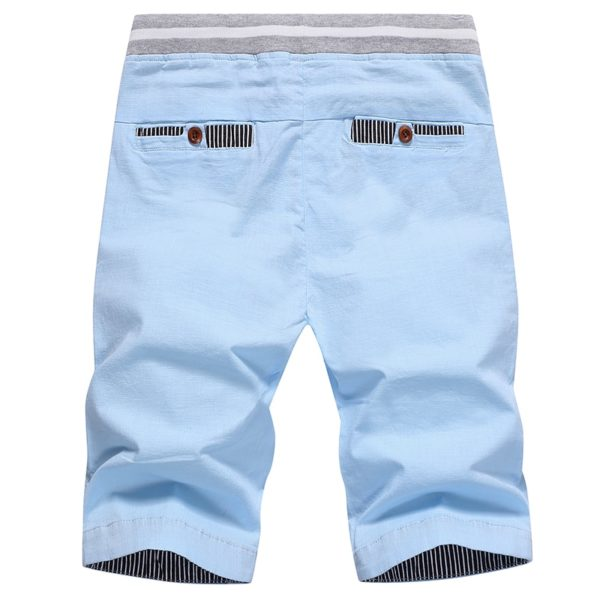 Solid Casual Shorts Cargo Beach