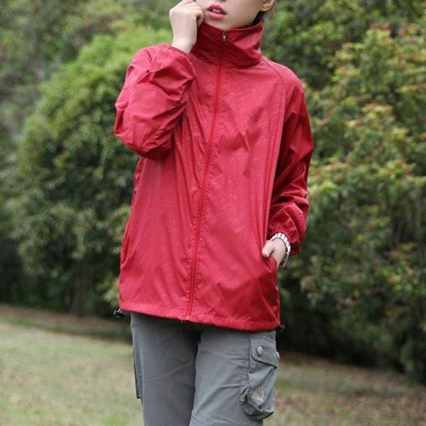 Men's Quick Dry Skin Jackets Coats Ultra-Light Casual Windbreaker Waterproof Windproof Brand Clothing