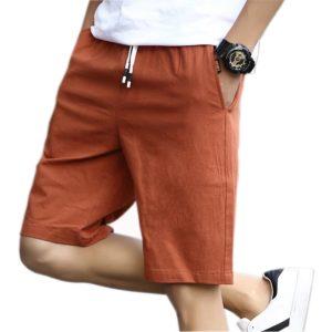 Summer Casual Bermuda Beach Shorts Breathable