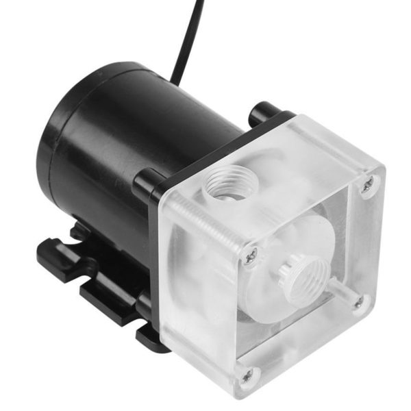PC Low Noise Water Cooling Circulation Pump 12V 0.8A 10W G1/4