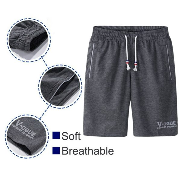 Summer Shorts Breathable Casual Comfortable Fitness Bodybuilding
