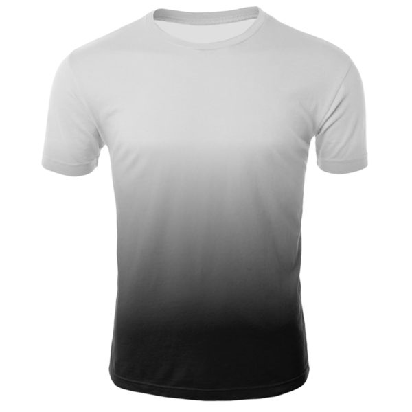 Themed 3D Printed T-shirt Round Neck Short Sleeve Tops